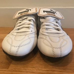 NEW Puma King leather athletic shoes in size US 5